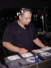 DJ Superman pumps out a wicked trance set at Club Grooves in Chiang Mai