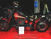 This heavily customised Harley Davidson is valued at Bt650,00 (about $US21,000)