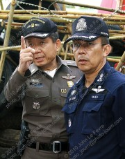 Thailand police have raided the company responsible for pest extermination at The Downtown Inn in Chiang Mai where seven tourists died earlier this year.
